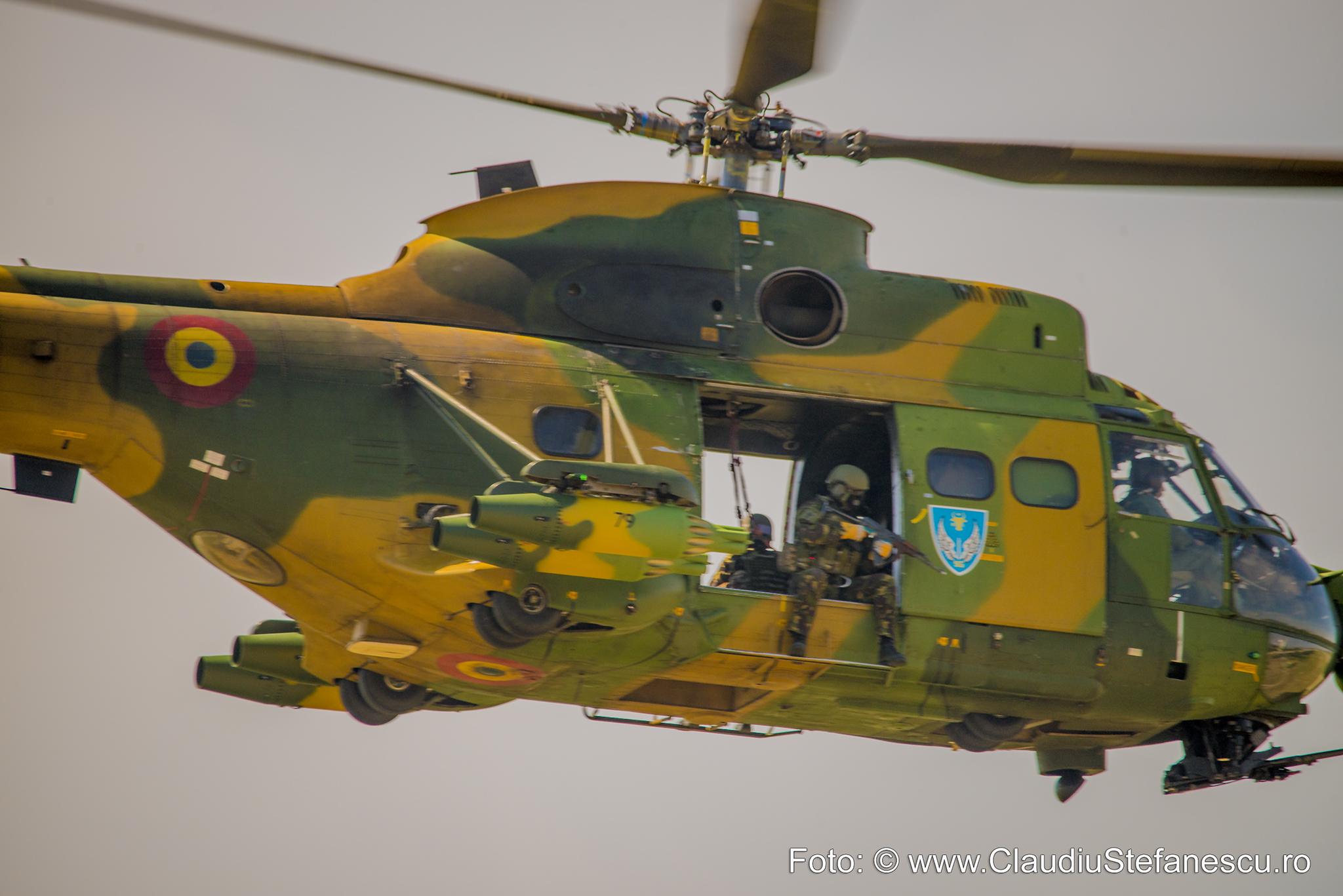 Atac aerian din elicopter