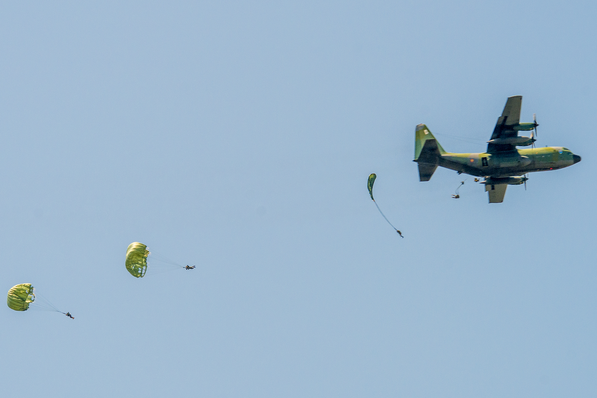 Avion Spartan Parașutiști