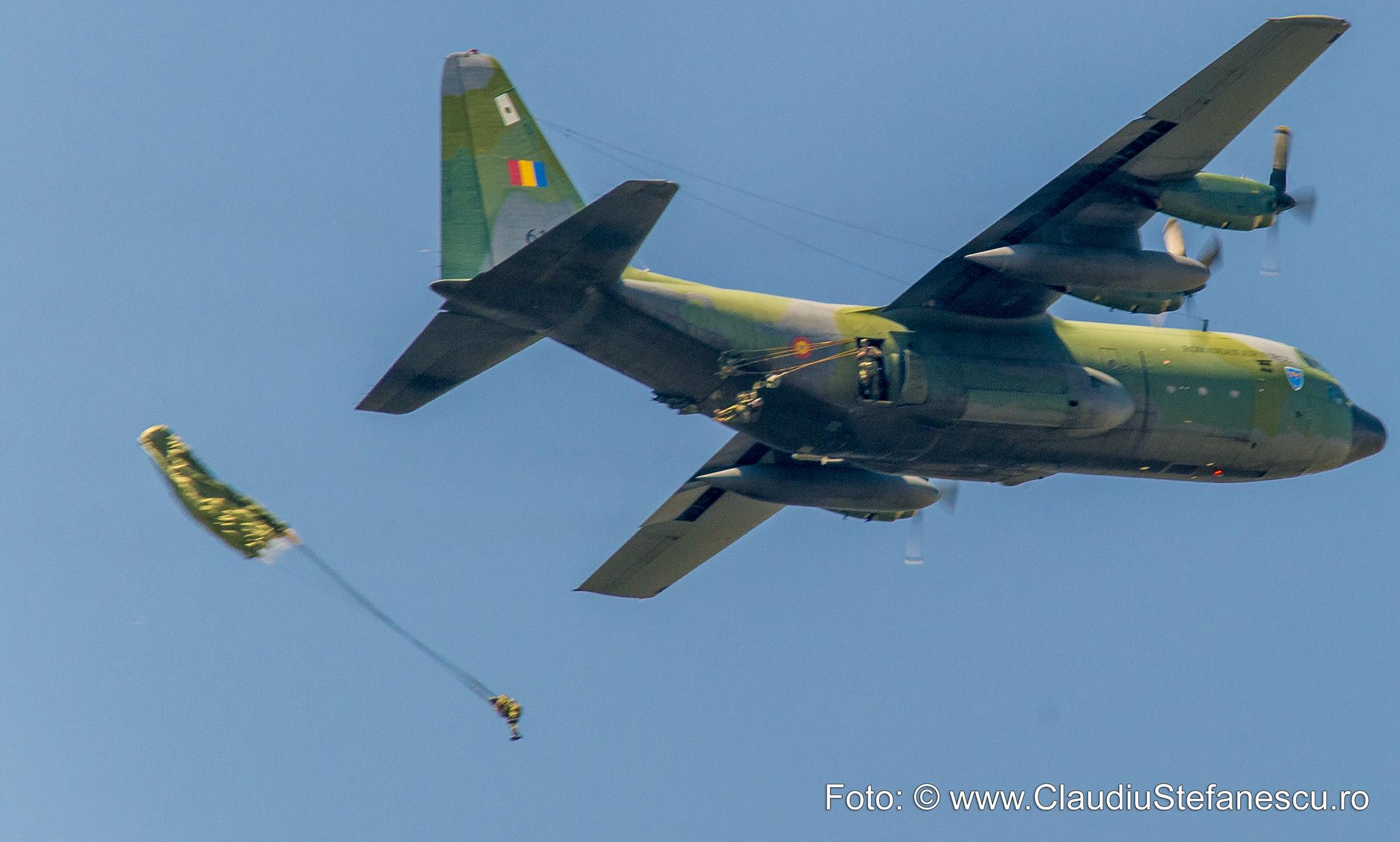 Desant aerian - avion Hercule